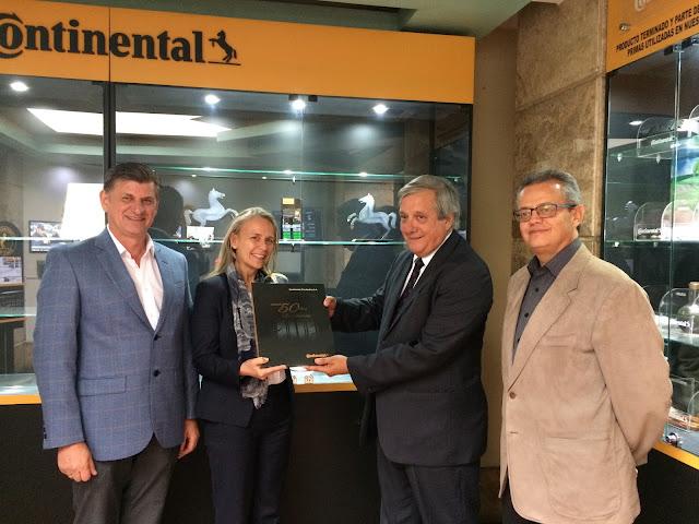 Continental Tire Andina recibió la visita de Marianne Van Vente, embajadora de la Unión Europea