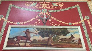 A mural of a Centaur killing a stag in the East Hall at Washington D.C.'s Union Station