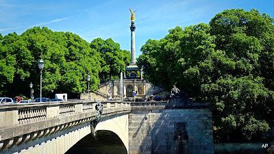 Friedensengel – Luitpoldbrücke