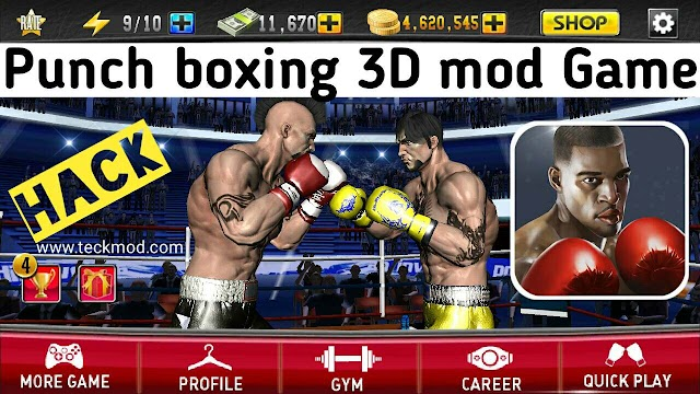 Punch boxing 3D mod apk Unlimited coins