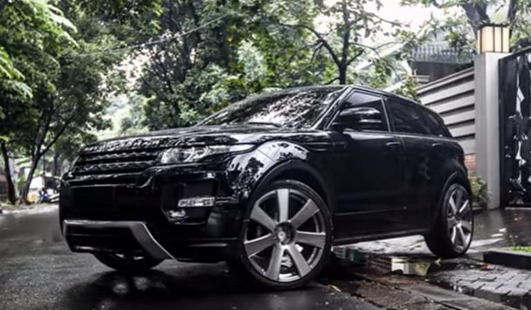 Modifikasi Mobil Range Rover Evoque Elegan Konsep 2019