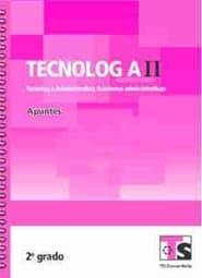 Tecnología II Tecnología Administrativa Funciones Operativas   Segundo grado 2018-2019 Telesecundaria