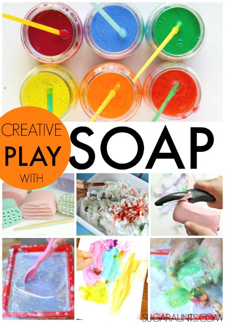Pop Squirt Splash Book For Activities With Soap Water Bubbles