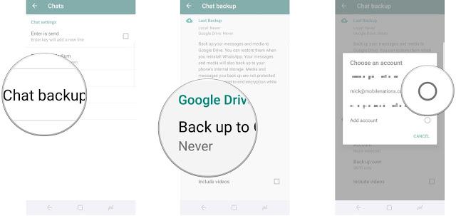 Cara Mencadangkan dan Memulihkan Pesan WhatsApp Anda dengan Google Drive 3