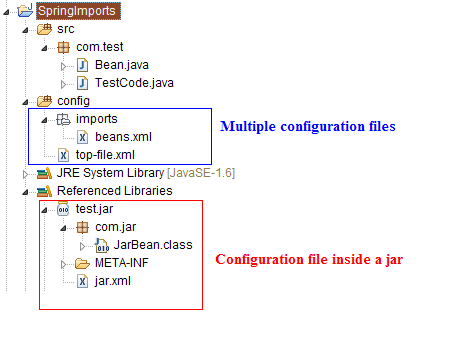 Learning the code way: Importing from other configuration files