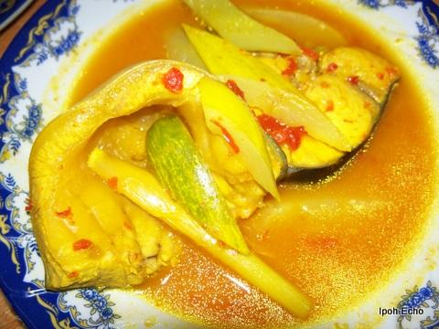 cara memasak gulai asam pedas ikan patin  Cara Memasak