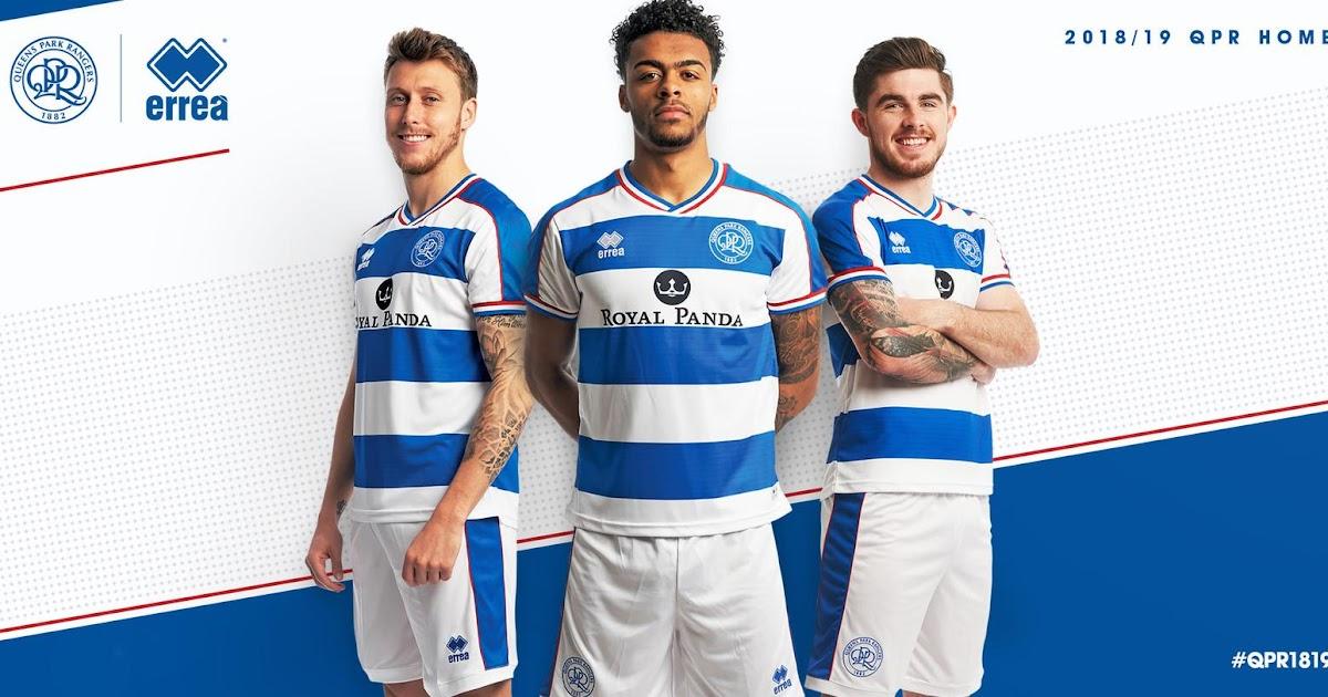0bebc586 Queens Park Rangers 18-19 Home & Away Kits Revealed - Footy Headlines