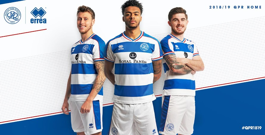 43062c4ec Queens Park Rangers 18-19 Home   Away Kits Revealed · The new ...