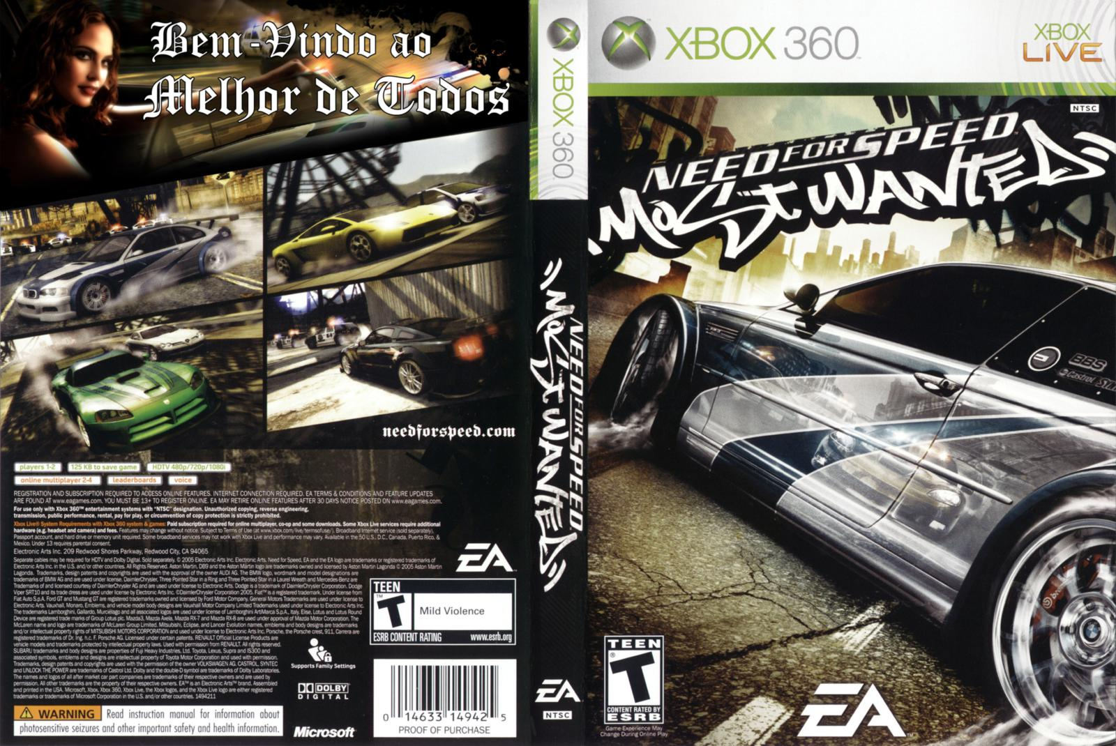 Need for speed: most wanted for xbox 360 | gamestop.