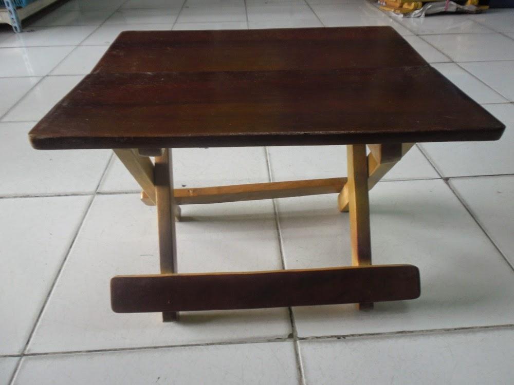 jual meja kayu lipat murah