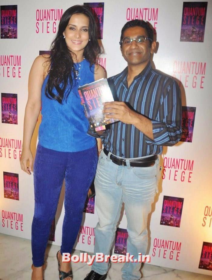 Tulip Joshi, Vinod Nair, Mandira Bedi, Bhagyashree at 'Quantum Siege' Book Launch by Amitabh Bachchan