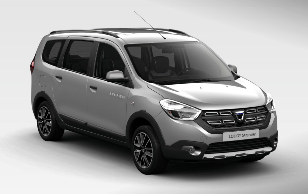 Dacia Lodgy Stepway (2017) - Couleurs / Colors