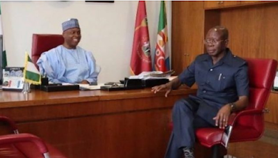 Saraki's ambition was destroying APC… thank God he has moved on -Oshiomole