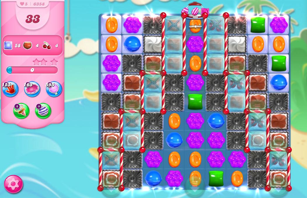 Candy Crush Saga level 6358