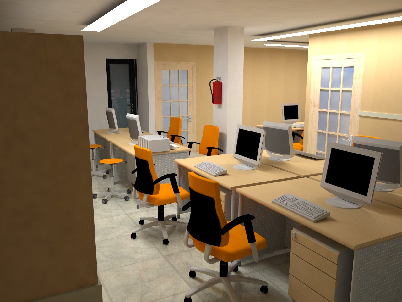 3D Studio Desain Interior Kantor Jakarta