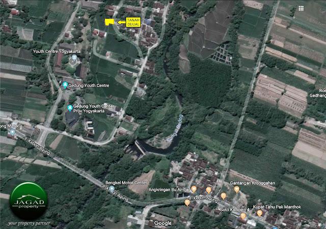 Tanah dekat Youth Center Mlati