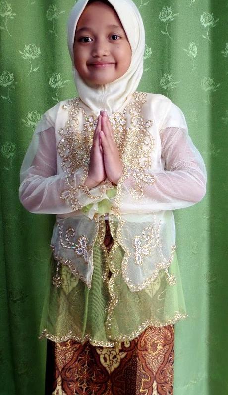 Contoh Kebaya Anak Muslim