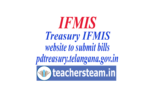 How to prepare IFMIS bills and How to add employee in treasury website pdtreasury.telangana.gov.in