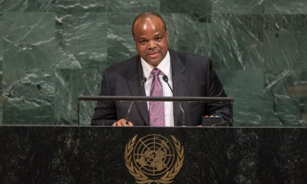 Round-up of the royals at the United Nations - King Mswati