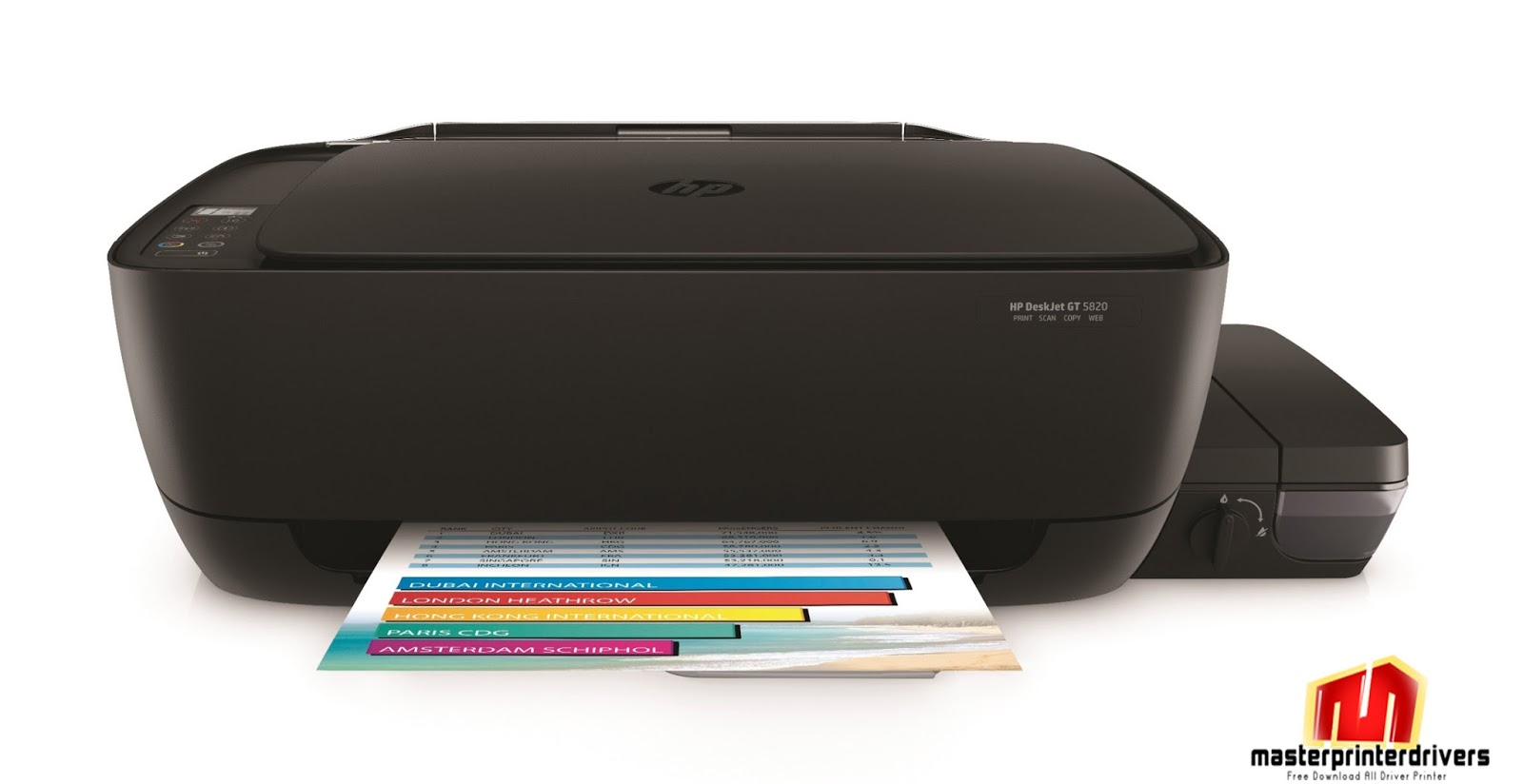 Hp Deskjet Gt 5820 Driver Download