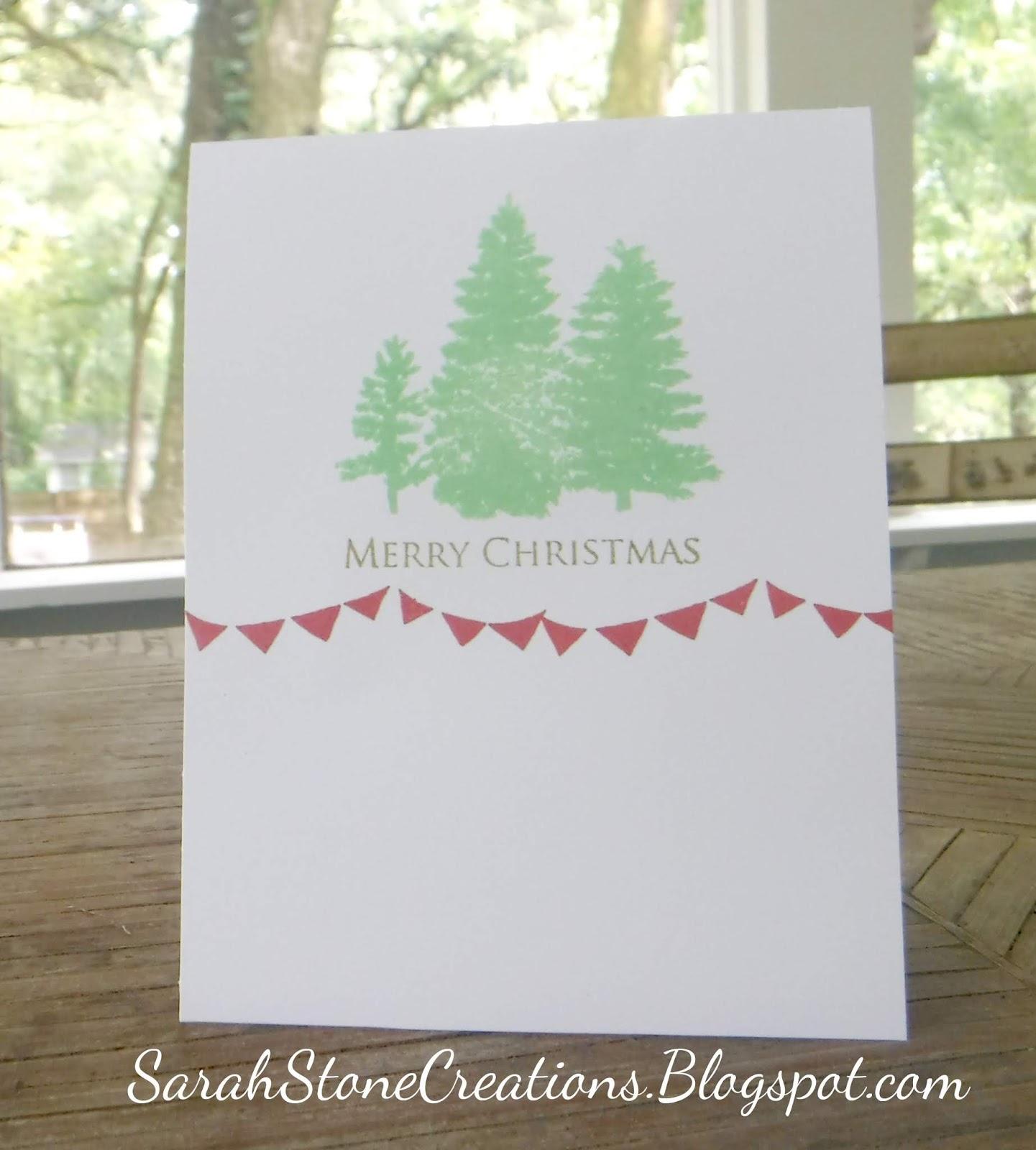 Sarah Stone Creations: Pistachio Christmas Trees