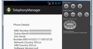 Android TelephonyManager | SKPTRICKS