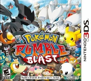 Pokémon Rumble Blast.  3DS, Mega, Mediafire