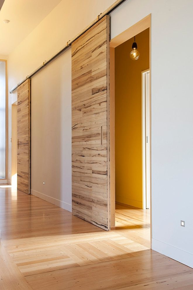 Functional%2B%2526%2BStylish%2BSliding%2BRolling%2BDividers%2BWood%2BDoors%2B%252815%2529 30 Practical & Fashionable Sliding Rolling Dividers Wooden Doorways Interior