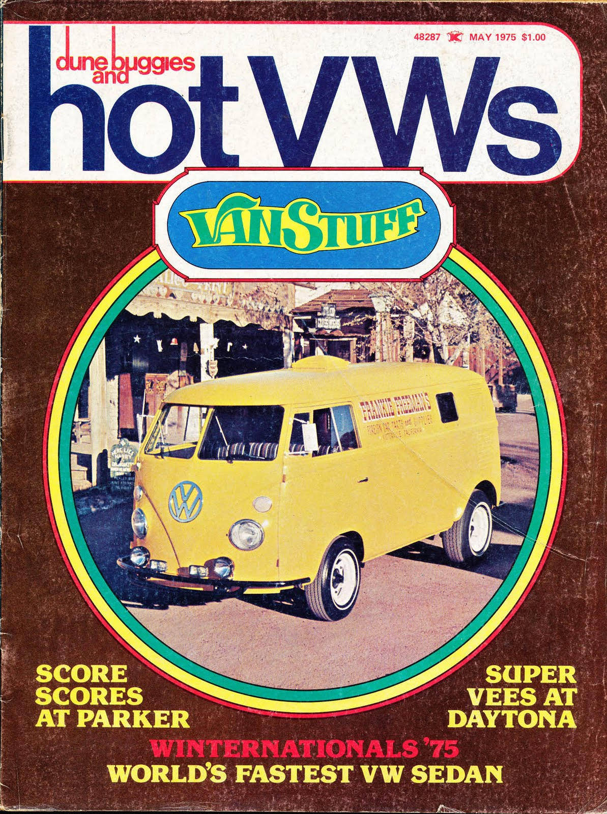 Big Blue's Online Carburetor: May 1975 - Hot VWs Magazine - Van
