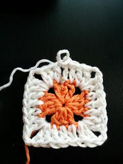 ソリッドグラニースクエアの編み方