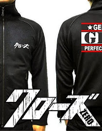 limited shoping jaket crows zero  gps genji perfect seiha