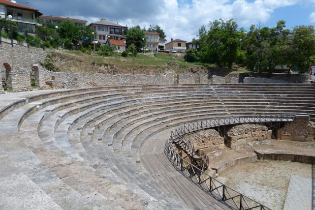Macedonië, Ohrid, oud theater