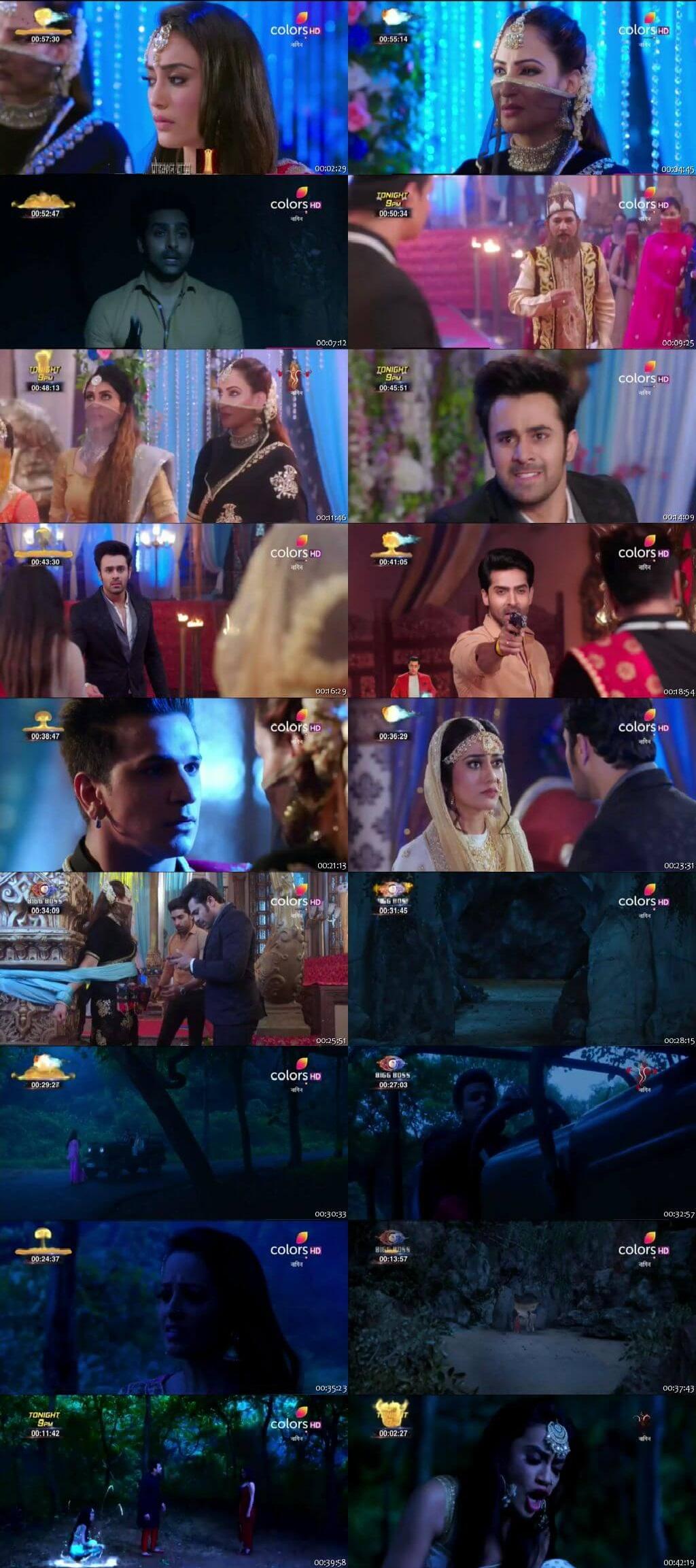 Screenshots Of Hindi Show Naagin Season 3 2018 Episode 31 300MB 480P HD