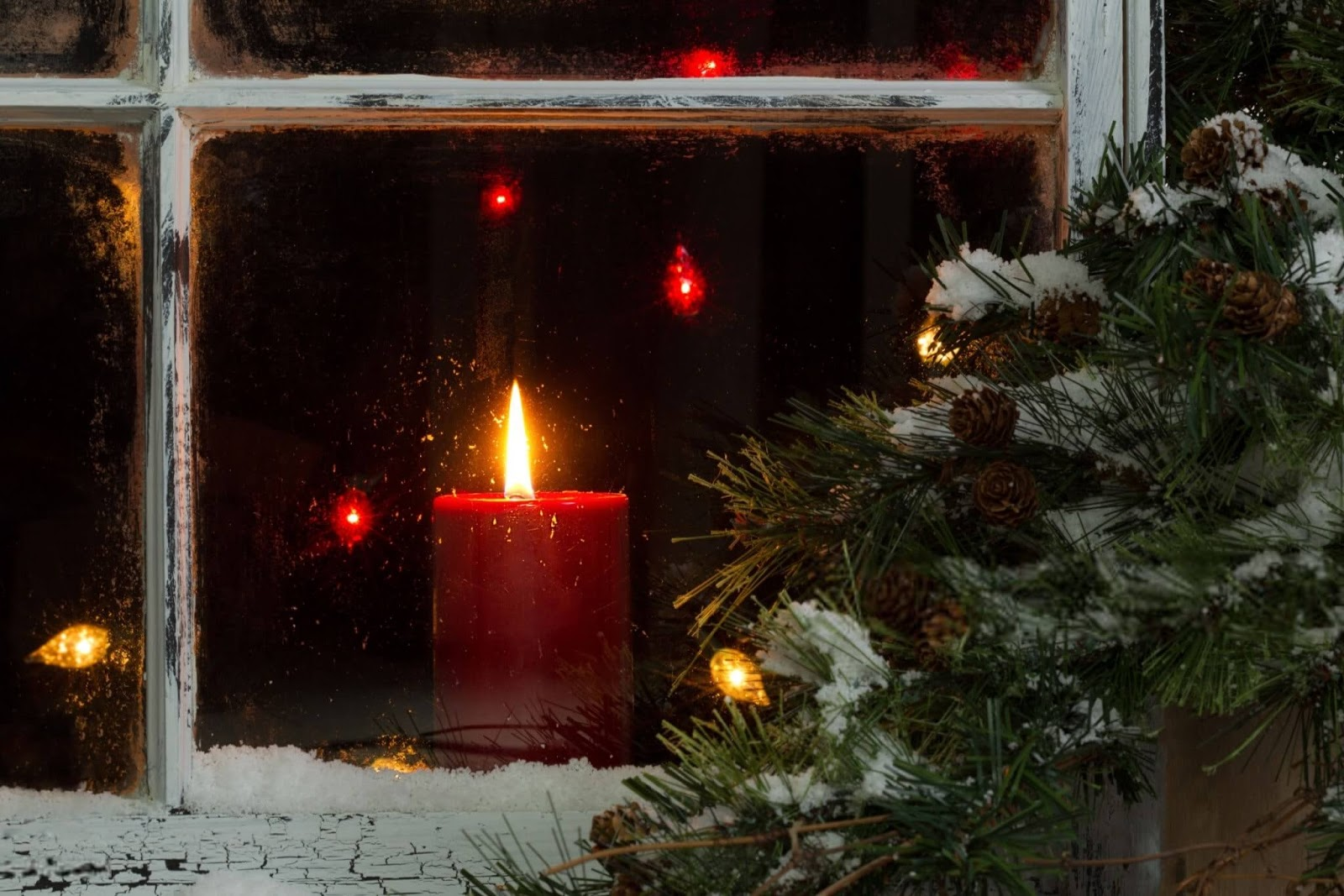 Christmas Candles Images