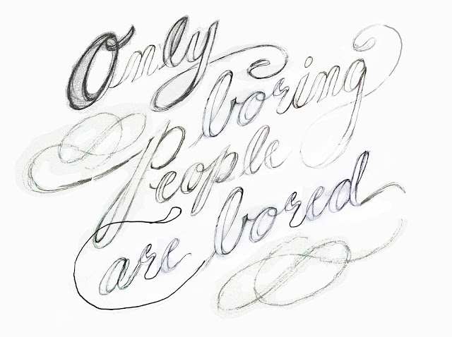 Fly Paper: Only boring people are bored