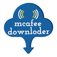 mcafee downloder