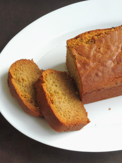 Eggless Pistachio Cream Pound Cake