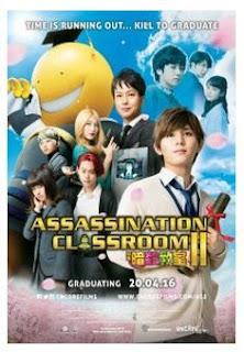 Assasication Classroom 2: Graduation (2016)