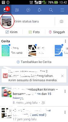 cara mengembalikan foto profil di facebook