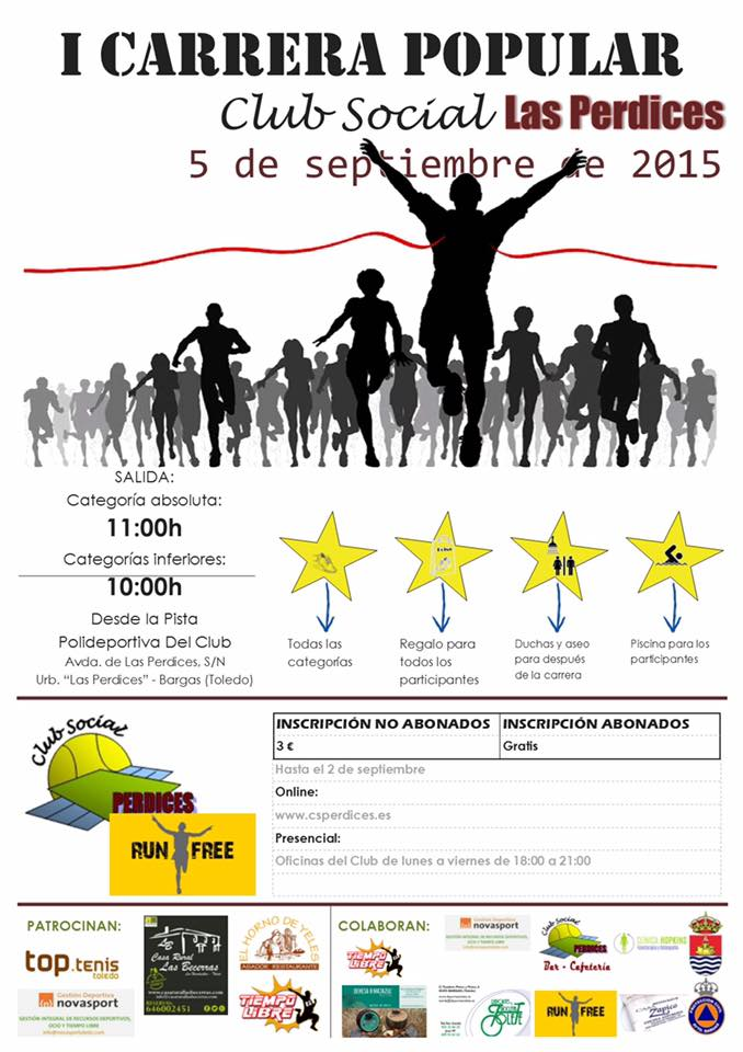 I Carrera Popular de Las Perdices, en Bargas