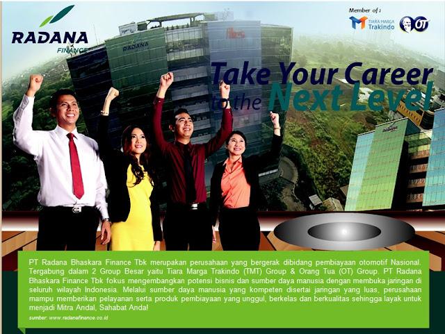 Lowongan Kerja di PT Radana Bhaskara Finance Tbk Kebumen