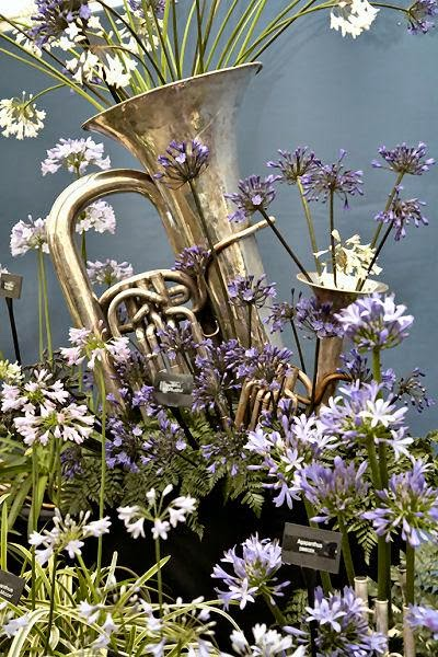 Yahoobuckaroo S Blog Making Flower And Water Gardens With Brass Instrument Bells