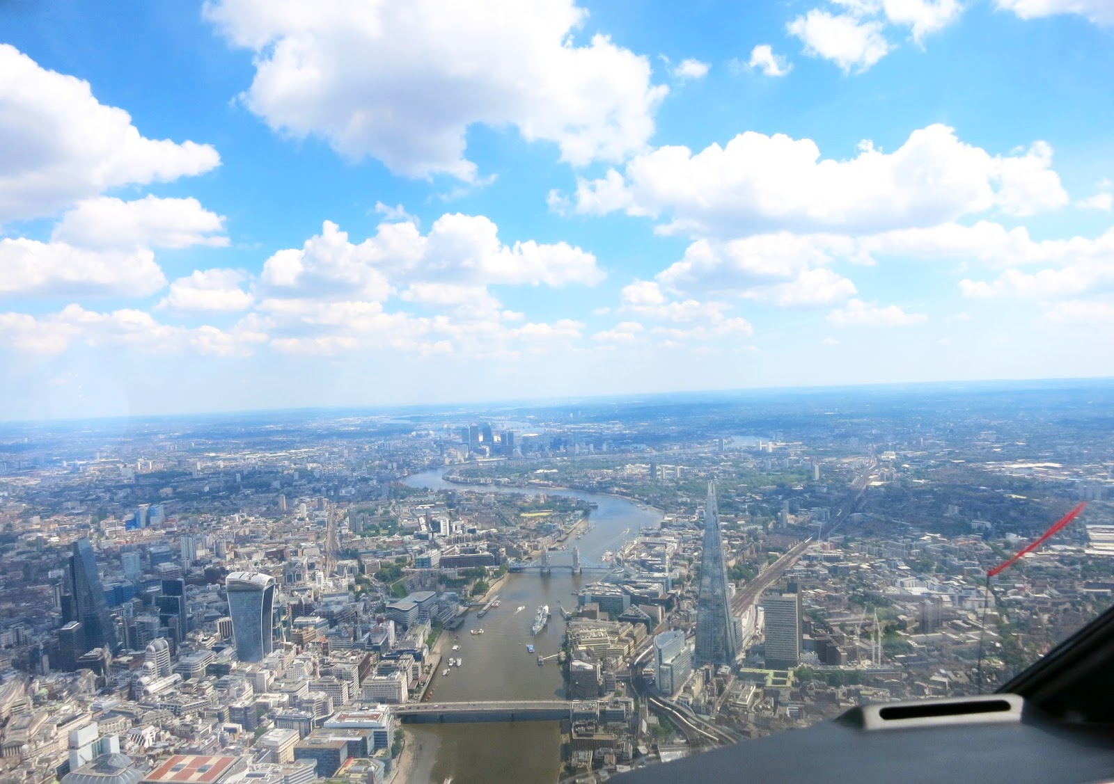 things to do in london, helicopter tour in london