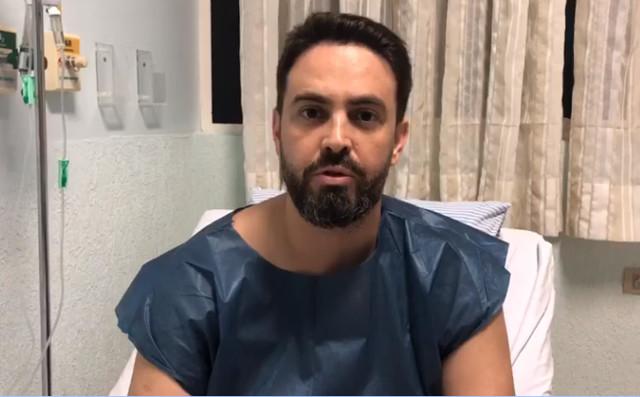 Após acidente, deputado Léo Moraes grava vídeo e diz que está tudo bem!