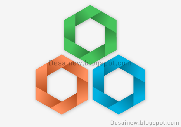 Make hexagon vector design in inkscape