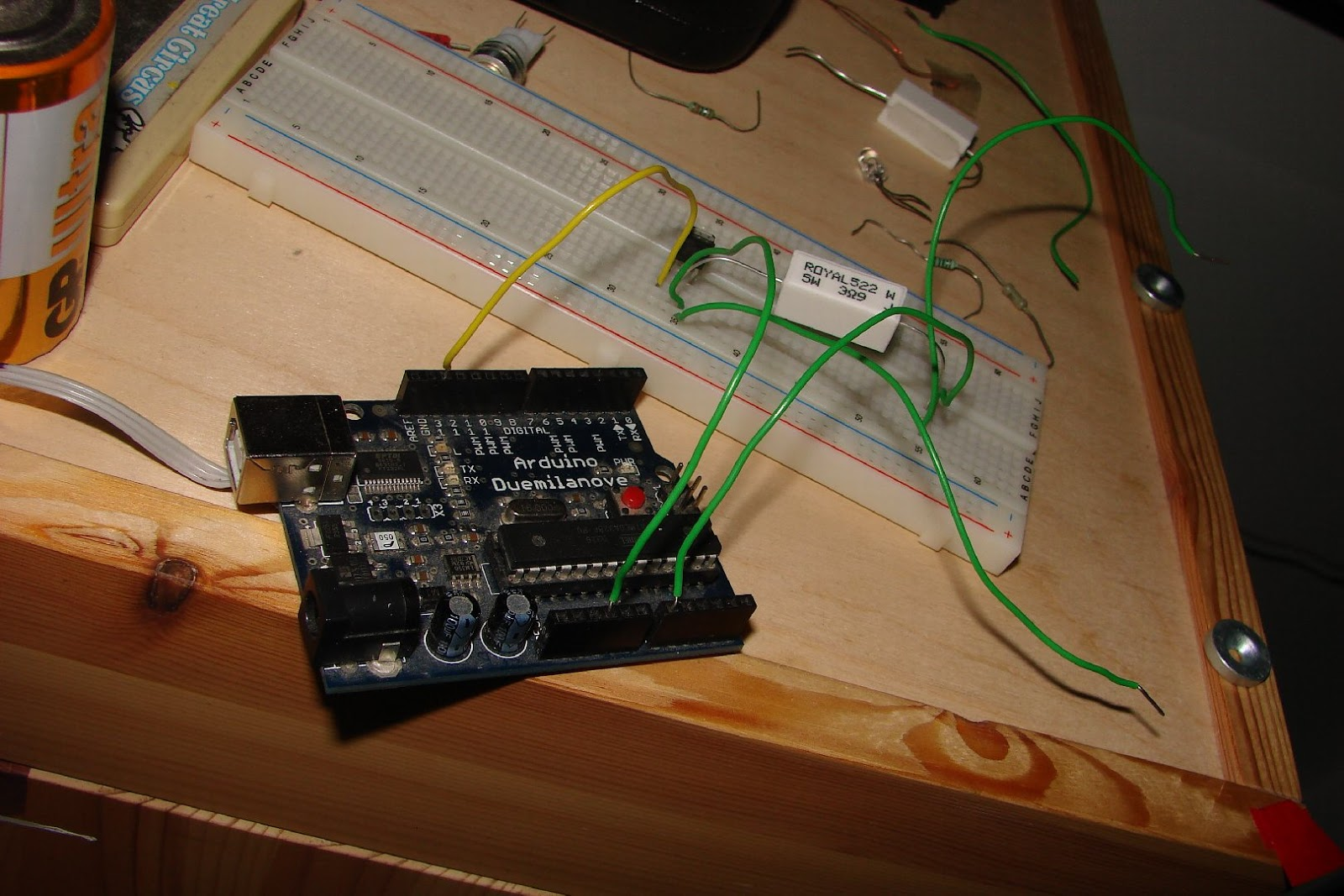 Everyday Ideas Battery Capacity Measurement With An Arduino In Vauxhall Corsa Wiring Although There Are Two Batteries Connected Series On The Picture This Is Only Because Was No Other Program