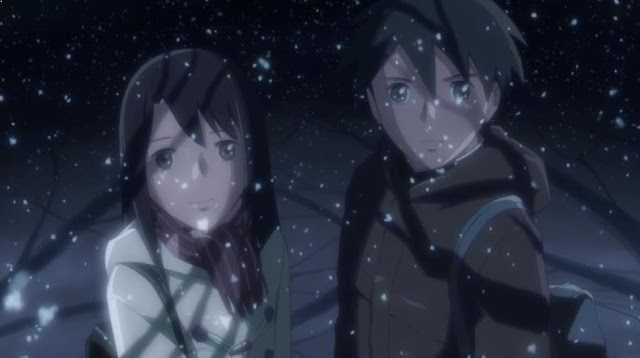 Oukasho - 5 Centimeters per Second Ending Explanation