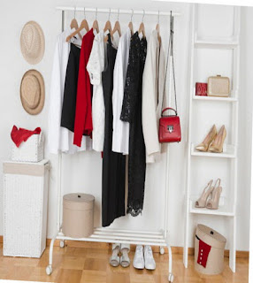 Rack hanger (gantungan baju berbentuk rak)