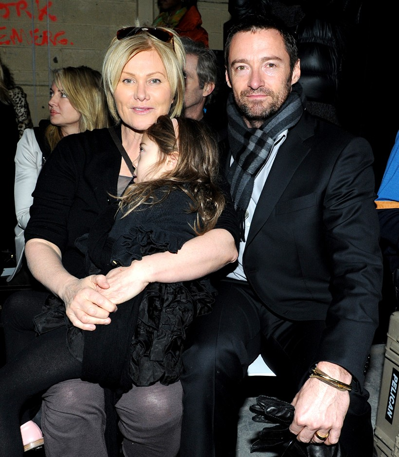 Hugh Jackman Wife and Kid Images 2012 | Hollywood Stars