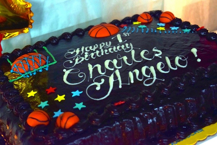 Goldilocks Basketball Cake Design Perfectend for